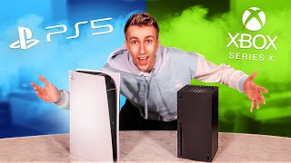 UNBOXING THE NEW PS5 & XBOX SERIES X!