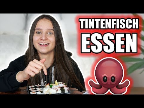 Ich esse zum ersten mal Sushi ! - Celina