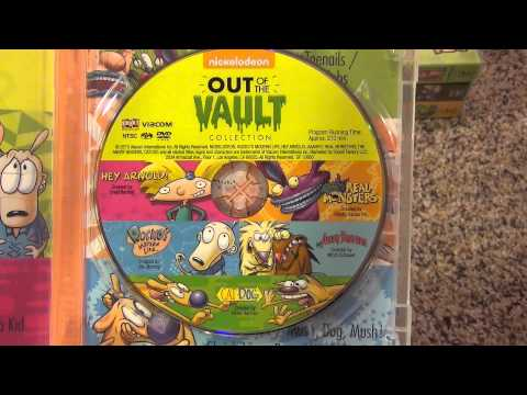 Nickelodeon Out of the Vault Collection DVD by Shout! Factory Unboxing and Review