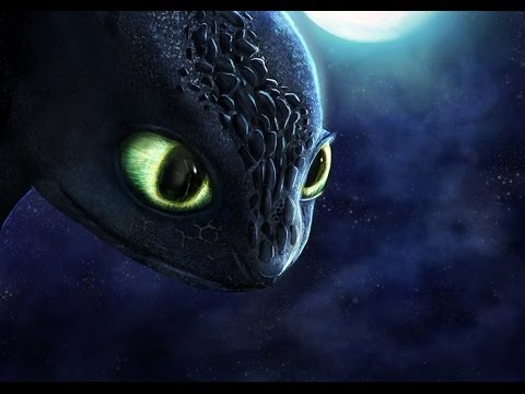 Dragon Toothless Cute Wallpaper How To Train Your Dragon Toothless Speedpaint 2 Years