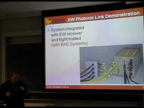 Introduction to microwave Photonics Lecture II