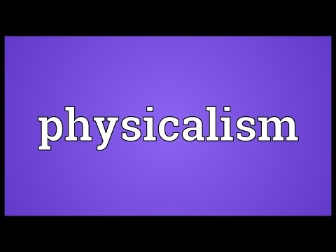 Header of physicalism