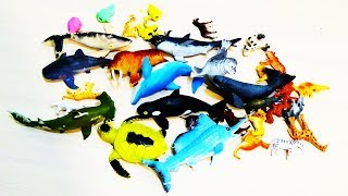 ИГРУШКИ распаковка РЕЗИНОВЫЕ МОРСКИЕ ЖИВОТНЫЕ акула ТРОЛЛАСТИКИ и ЖИВОТНЫЕ ПЛАНЕТЫ TOYS unboxing kid