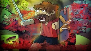 Minecraft | The Apocalypse - OVERRUN BY ZOMBIE HORDE! (Zombies, Survival, Bunkers) #5