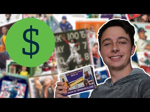 I Tried Making Money Selling Sports Cards