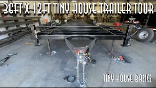 36ft X 12ft Wide Tiny House Trailer Tour