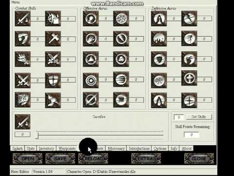 Diablo 2: hero editor guide make full legit offline characters.