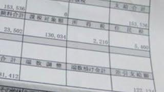 給与明細 中日新聞の部長のメガトン級の給料