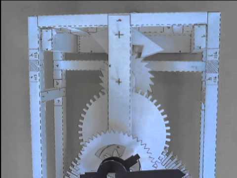 paper clock youtube. Black Bedroom Furniture Sets. Home Design Ideas