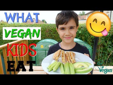 WHAT VEGAN KIDS EAT EASY AND SIMPLE🌱 | ELSIE 9YR OLD