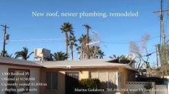 A 4-unit duplex, rental cash-flow investment of $1,850/m is a rare find in Las Vegas Real Estate!