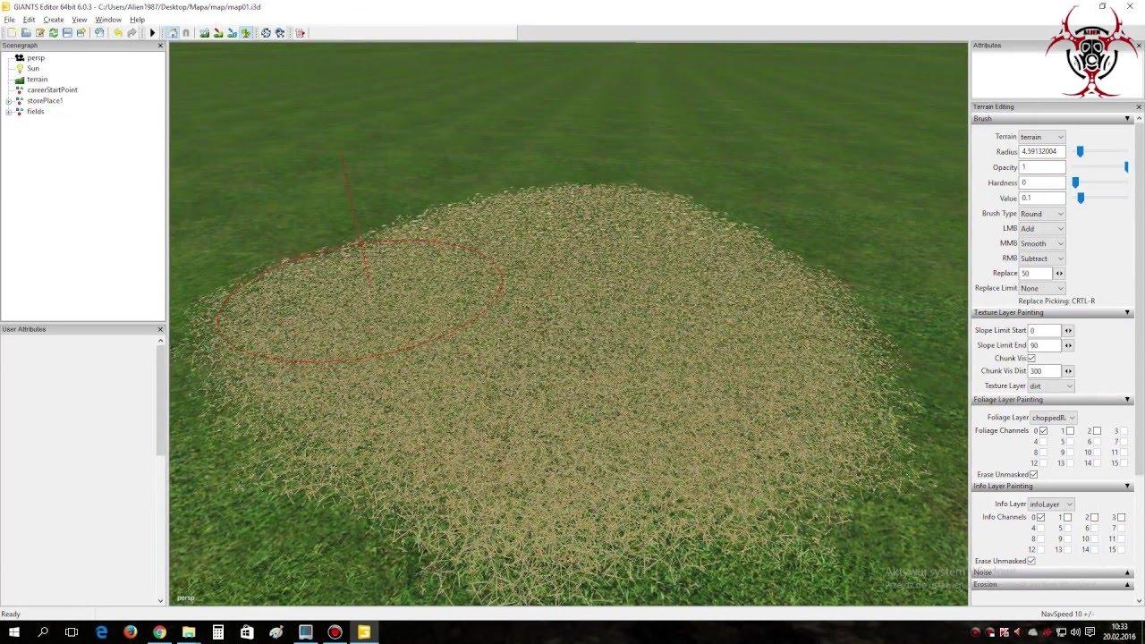 Jak tworzyć mapy w Farming Simulator 2015 - mod sieczki