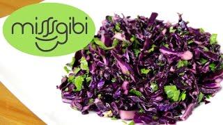 Lahana Salatası - Mor Lahana Salatası Nasıl Yapılır?