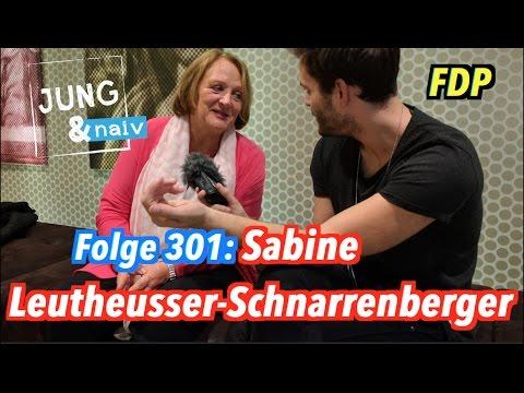 Sabine Leutheusser-Schnarrenberger (FDP) - Jung & Naiv: Folge 301
