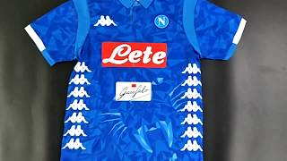 SSC Napoli 2018/19 home kit - fcbjerseys.com