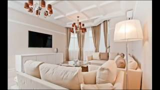 Гостиная фото. Дизайн штор для гостиной и зала.