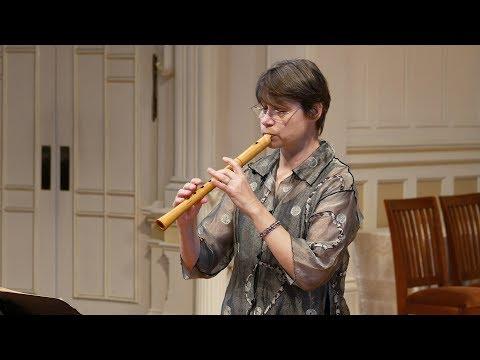 Jacob van Eyck: Boffons; Hanneke van Proosdij, recorder 4K UHD