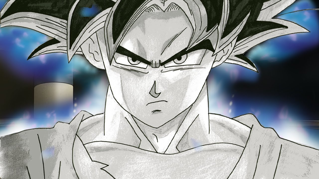 SPEED DRAWING GOKU ULTRA INSTINCT (身勝手の極意) | Dragon Ball ...