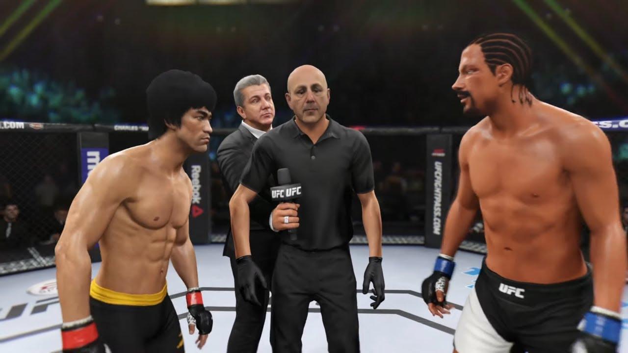 Bruce Lee vs. Snoop Dogg (EA sports UFC 2)