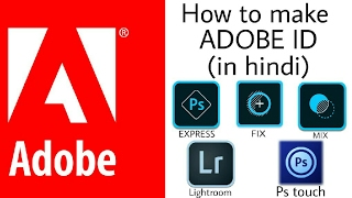 How to make Adobe id with android