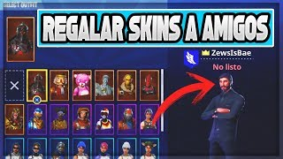 Gift SKINS, PICOS & ALAS DELTA FREE to FRIENDS in Fortnite: Battle Royale (V-BUCKS FREE)