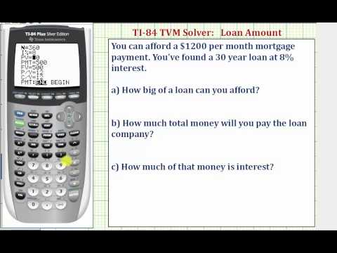 ex:-ti84-tvm-solver---find-the-present-value-of-a-loan-given-monthly-payment