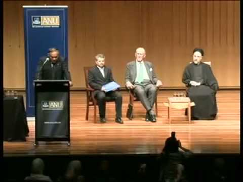 H.E. Dr Seyed Mohammad Khatami: 'Dialogue, Justice and Peace'. Public lecture at ANU. Part 1.