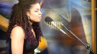 "Jordin Sparks singing ""Bless The Broken Road"""