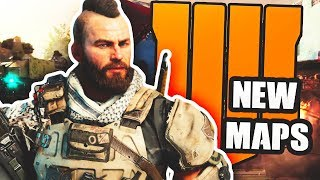 TWO NEW MAPS Found In The BLACK OPS 4 LAUNCH GAMEPLAY TRAILER