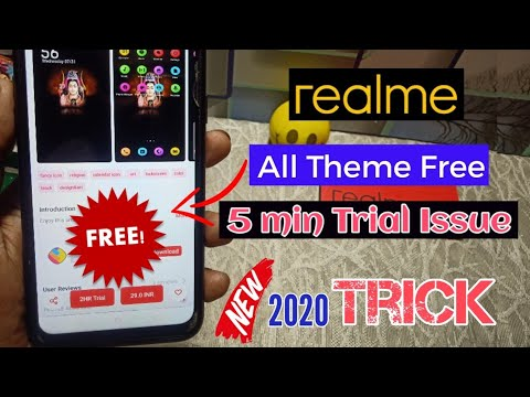 Fix 5 Minutes Trial Of Theme Store | Realme Update | How To Use Paid Theme In Oppo & Realme Theme St