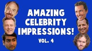 Amazing Celebrity Impressions! Volume 4