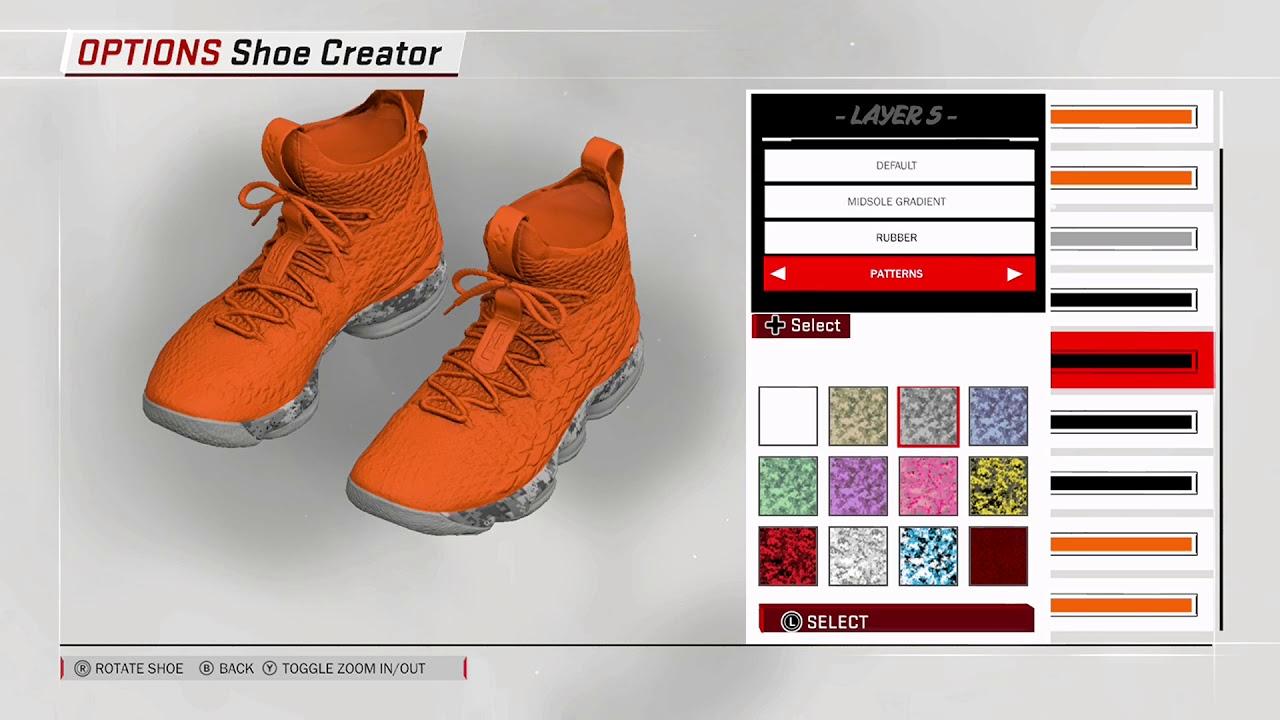 low priced 0c911 0c647 NBA 2K18 Shoe Creator - Nike LeBron 15