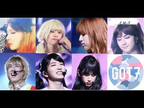 [EM-T] GOT7 DRESS UP AS GIRLS COMPILATION
