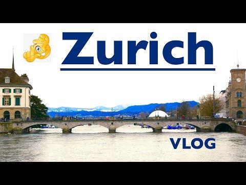 Zurich in winter / vlog travel guide