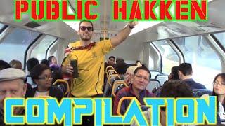Public Hakken Compilation|McDonalds, Train And Lecture Rave