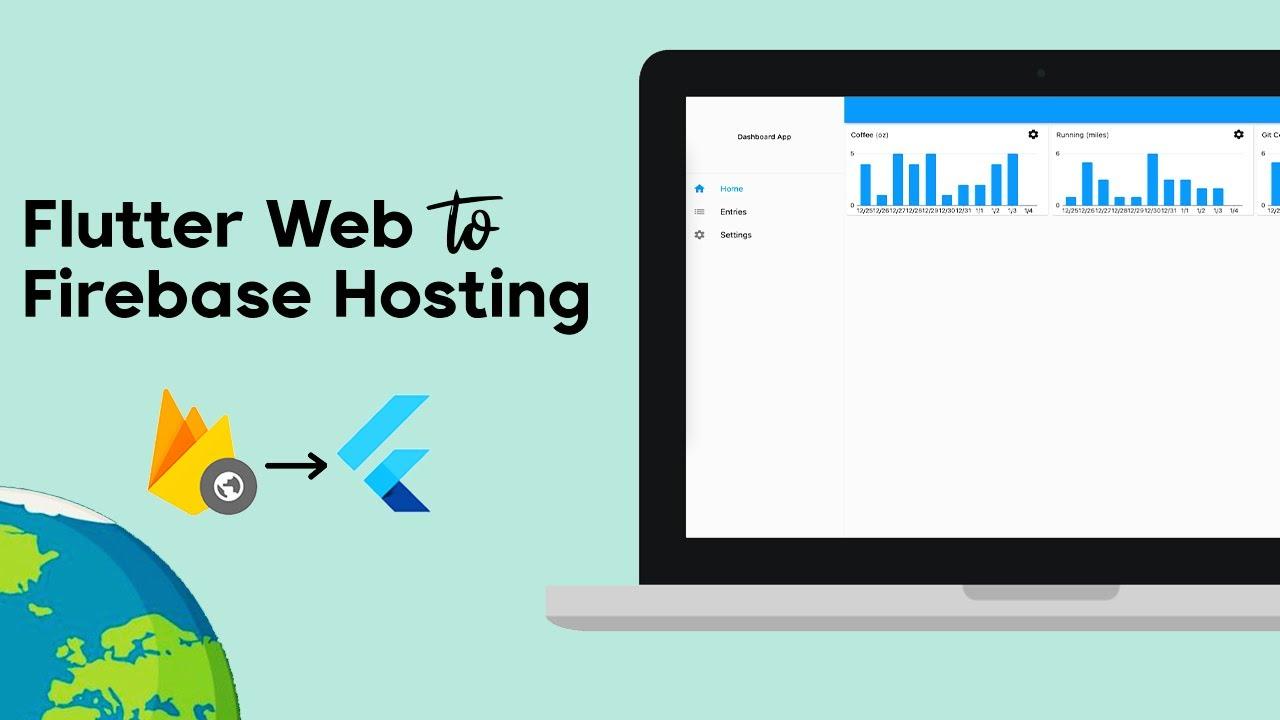 Host Your Flutter App/Website on Firebase | Flutter WebApp Tutorial for Beginners.