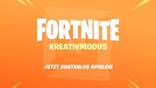 Fortnite Creative Mode - Get in now for free