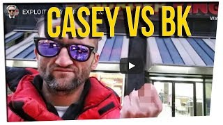 Casey Neistat 'Upset' With Burger King's Marketing Ploy ft. Gina Darling & David So