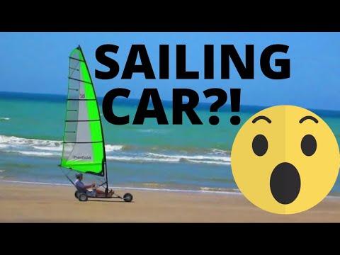 Sailing-Car along Shatti Al Qurum Beach, Muscat, Oman