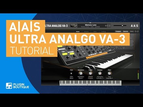 Ultra Analog VA-3 By A A S   Chill Trap Pad Tutorial \u0026 Key Feature Review