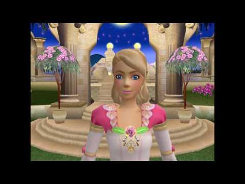 Игры для девочек. Барби. 12 танцующих принцесс (прохождение игры).