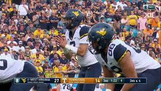 West Virginia vs Tennessee Football Highlights