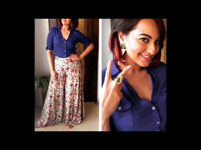 9 Different and Stylish ways to style in palazzo pants | Learning Process