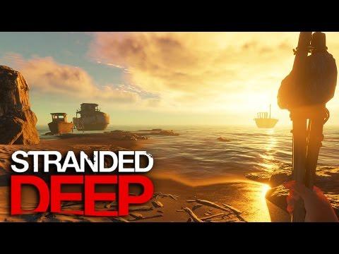 Stranded Deep | Survival Part 4 | SURVIVAL STRUGGLE!!