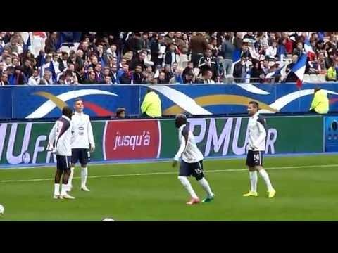 Lucas Digne ● Bacary Sagna ● Rio Mavuba ● Loïc Perrin ● France vs Norvège 2014