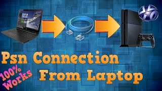 [EASY] How to connect to Psn with a Laptop by LAN on Ps4 (Network Bridge) (Mic)