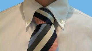 Cómo hacer nudo de corbata windsor