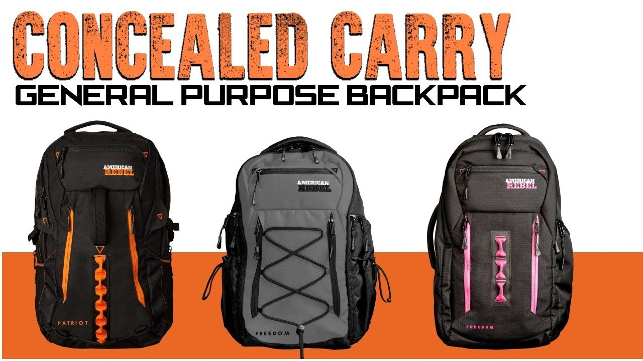 Concealed Carry Backpacks American Rebel