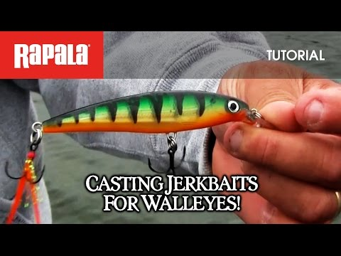 Rapala X-Rap® For Walleye: HOW TO FISH