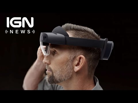 Microsoft Employees Protest Company's Multimillion Dollar HoloLens Military Contract - IGN News